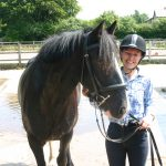 Me and Coco after a riding lesson