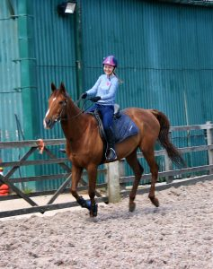 Happy Rider in Canter