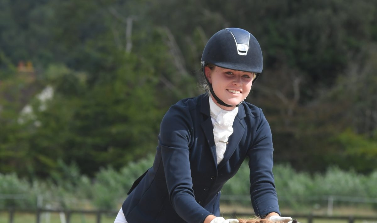 Louise Gallavan dressage rider
