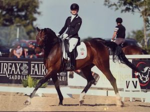 Charlotte and AB Barroco at the National championships 2019