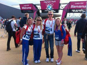 Hannah Biggs at the London Olympics in 2012