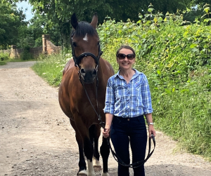 Sharon Howe The life of Riley equestrian blogger
