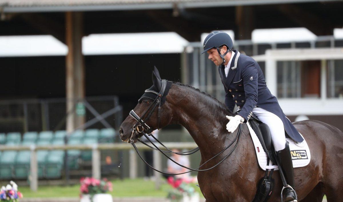 Tom Goode riding Sakira