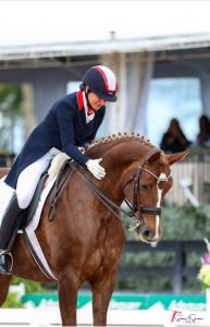 Catherine Haddad Staller and Frankie at Wellington CDI5*